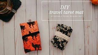 DIY Travel Tarot Mat