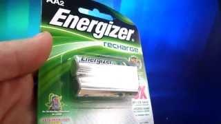 Energizer Pila AA 2 Pilas Recargables 2300mAh