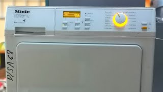 Miele Softronic T 8627 c WP, сушильная машина с тепловым насосом. Обзор, описание программ.