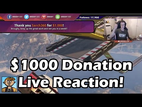 Third $1000 Donation! - Live Reaction, Twitch Chat & Full Highlights