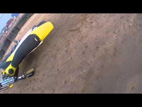 Flat track crash - KC Raceway