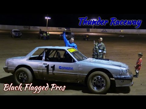 Thunder Mini Stock Main At Thunder Raceway August 6th 2016