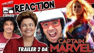 🎬 Reaction Capitã Marvel Trailer 2 - Irmãos Piologo Filmes