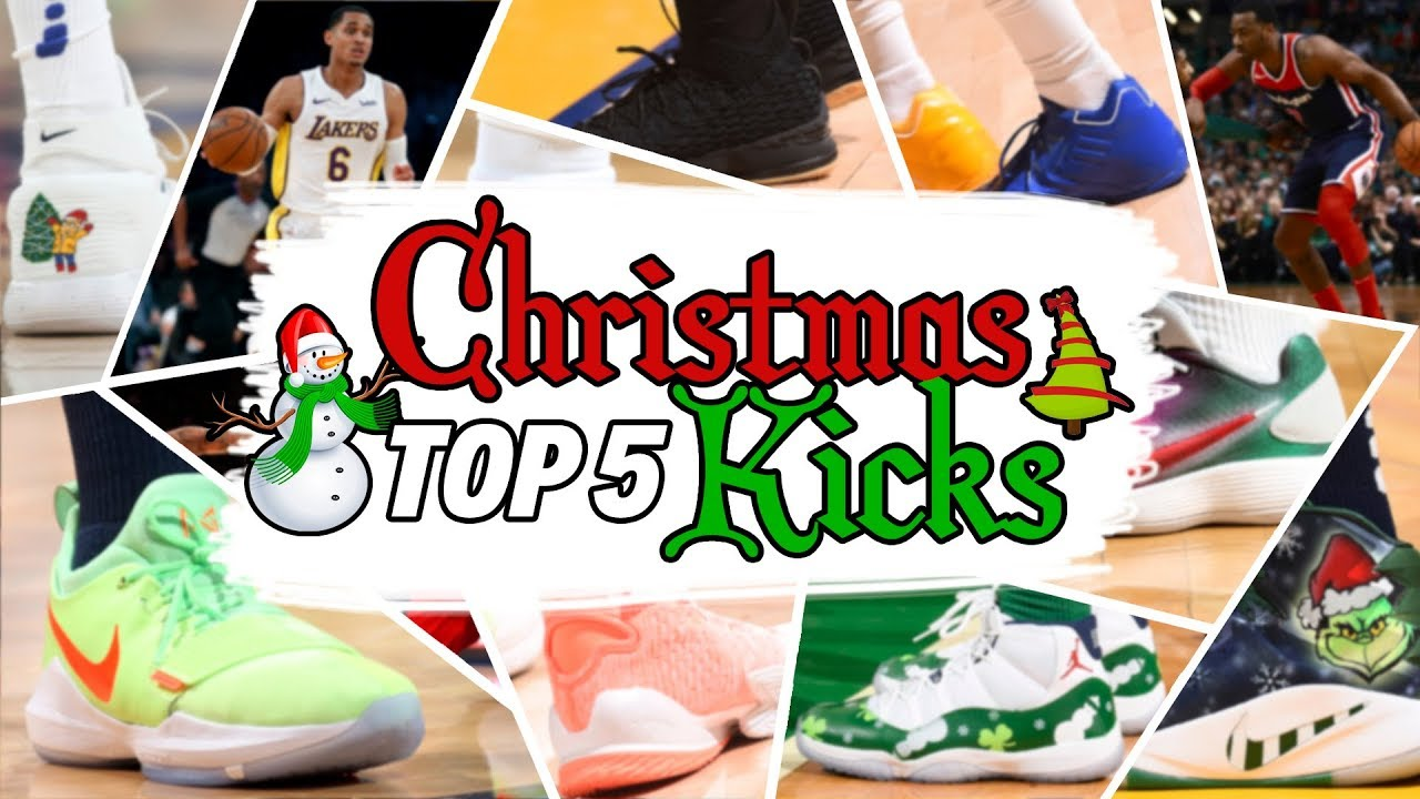 e3a6ff167c8fb TOP 5 CHRISTMAS DAY SNEAKERS IN THE NBA - YouTube