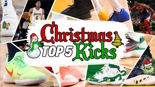 TOP 5 CHRISTMAS DAY SNEAKERS IN THE NBA
