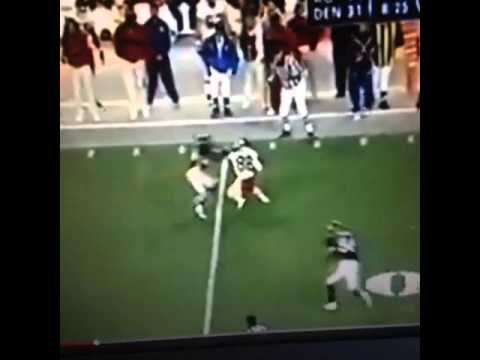 Dante hall with the sickest juke ever. #juke #brokenankles #Dubstep #football #nfl
