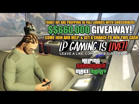 GTA 5 Online | $660,000 giveaway Ask in chat | Doomsday Heist Prepping + Freemode Part 1