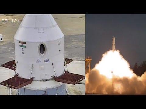 ISRO Crew Escape System - Pad Abort Test