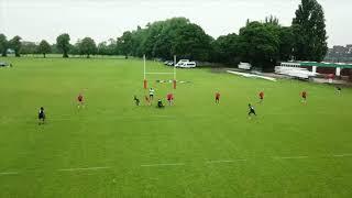 Fiji 7s Team Training scrag game  vs Russia