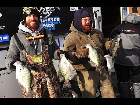2018 Ice Fishing Panfish Tournament On Lake Arthur In Pennsylvania - WPA Hardwater Series #1