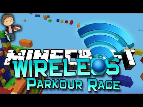 Minecraft: 1.8 Wireless Parkour Race w/Bajan Canadian and JeromeASF