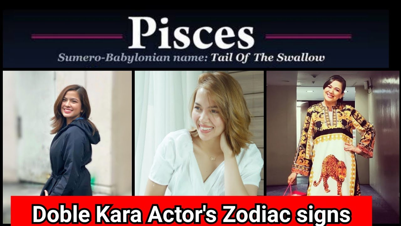 Download Doble Kara | Actors ZODIAC SIGNS ( From Aries ♈ to Pisces )