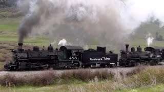 Cumbres and Toltec: Memorial Day Double Header