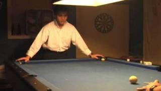 Funny Pool Trick/Nut Shot