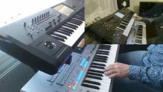 Filatov & Karas  Tell it to my heart   Yamaha tyros 4   Korg kronos