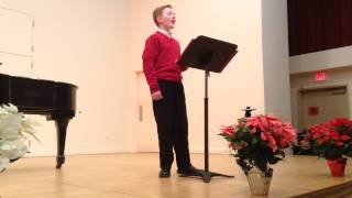 M Kroll - 12/2014 Indian Hill Music School