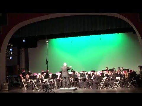 First Christmas Overture Oconee County Middle School band 6th grade