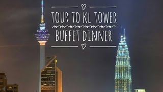 Video COME TRAVEL WITH ME | MALAYSIA | KL TOWER | BUFFET DINNER download MP3, 3GP, MP4, WEBM, AVI, FLV November 2018