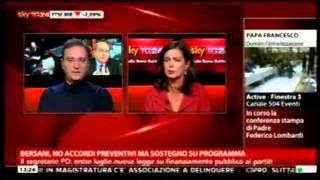 Antonello Caporale del Fatto Quotidiano a SkyTg24   18 marzo 2013