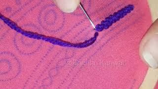 Moti Tanka Bead stitch|hand embroidery