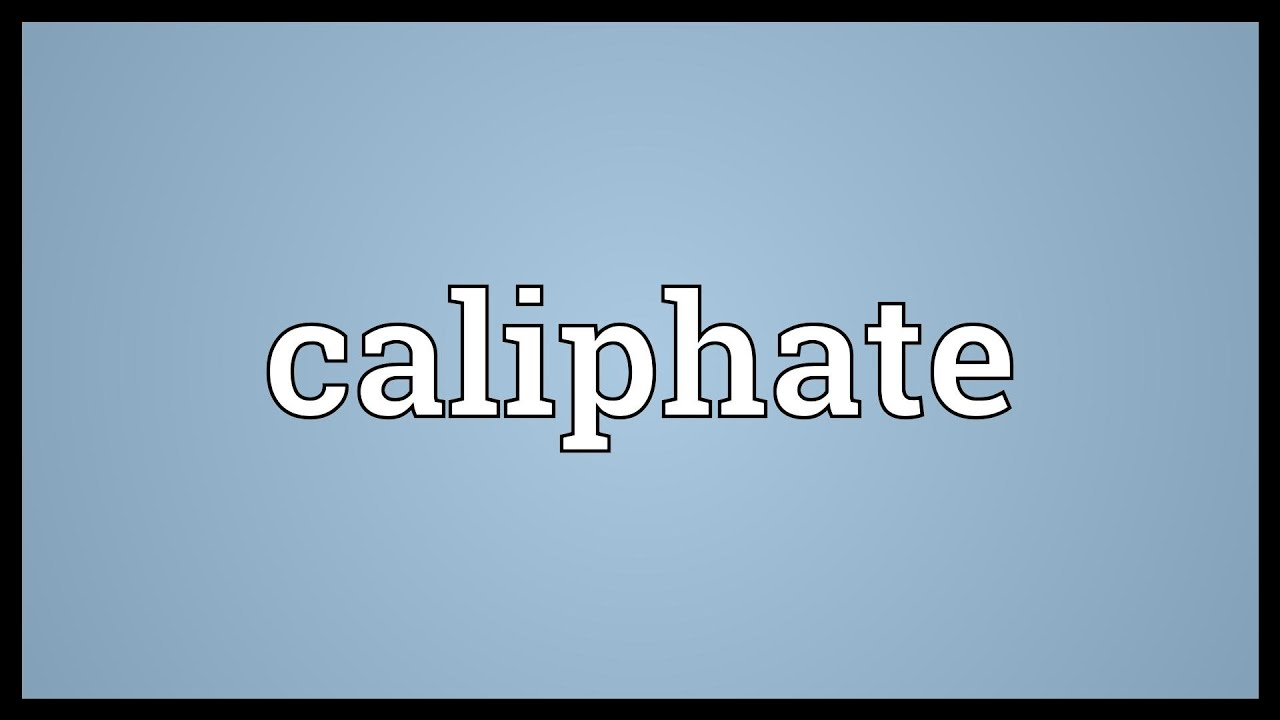 Caliph - is the meaning of the word and the male name 68