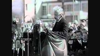 Einsteins Rede zur Eröffnung der Funkausstellung 1930