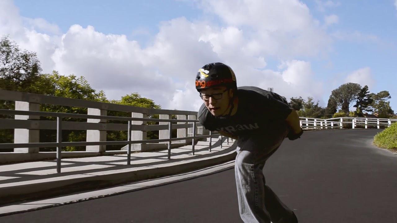 Downhill Longboarding (short clip)
