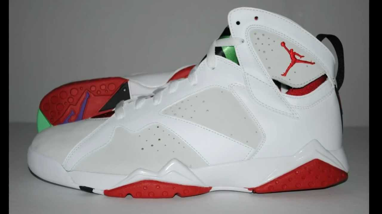 b11b6da7c16 2008 AIR JORDAN VII 7 HARES COUNTDOWN PACK DETAILED LOOK HD HIGH DEFINITION  1080P - YouTube