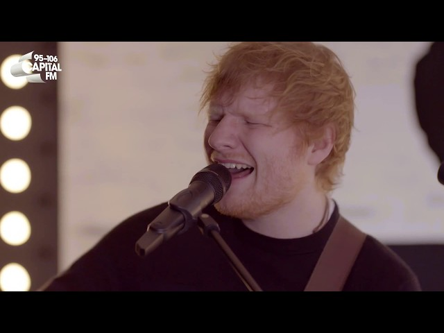 Ed Sheeran - 'Perfect' (Exclusive Live Session For Global's 'Make Some Noise')