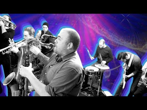Indie-rock brass band gig (ABERDEEN)   Gig Vlog #18