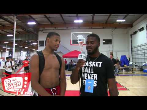 Dennis Smith Jr. Adidas Nations Interview 2016