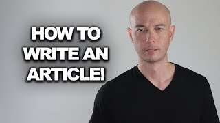 How to write an Article with a Keyword Golden Ratio Keyword?
