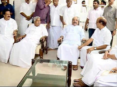 UDF Leaders visits KM Mani's home for the support in Chengannur by-poll