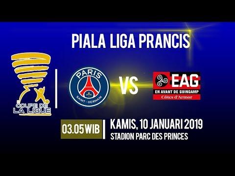 Jadwal Pertandingan Piala Liga Prancis Paris Saint Germain Vs Guingamp, Kamis Pukul 03.05 WIB