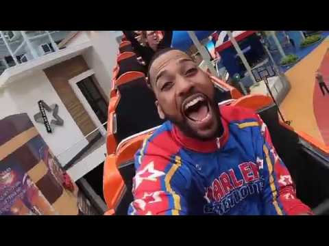 Dave Wilson - Harlem Globetrotters Mall Trick Shots