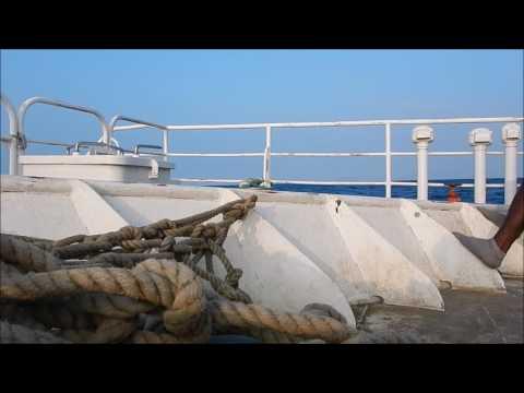 """Big Sista"" Ferry - Port Vila To Malog Bungalows Malekula Vanuatu"