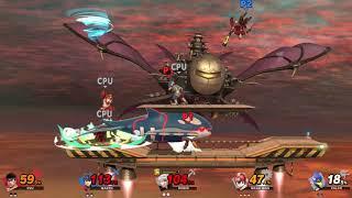 Super Smash Bros Ultimate - The Game - Ryu vs Marth