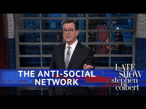 Stephen Colbert vs. Mark Zuckerberg Is Silent Amid Facebook's Privacy Scandal