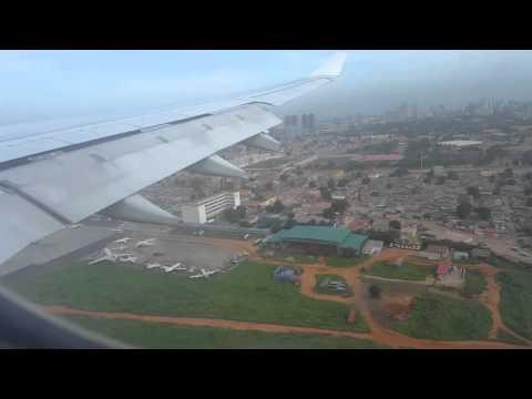 TAP A330-200 - LANDING IN LUANDA 20/03/2016