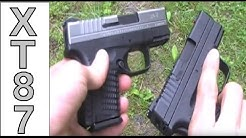 Springfield Armory XDs - .45 ACP (Two Pistols: Bi-Tone & Black Finish)
