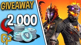 LAVA LEGENDS PACK/2.000 V-BUCKS GIVEAWAY [FORTNITE ENGLISH]