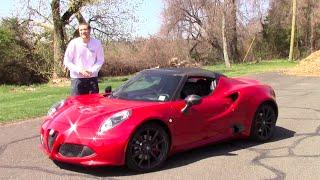 Alfa Romeo 4C 2014 Videos