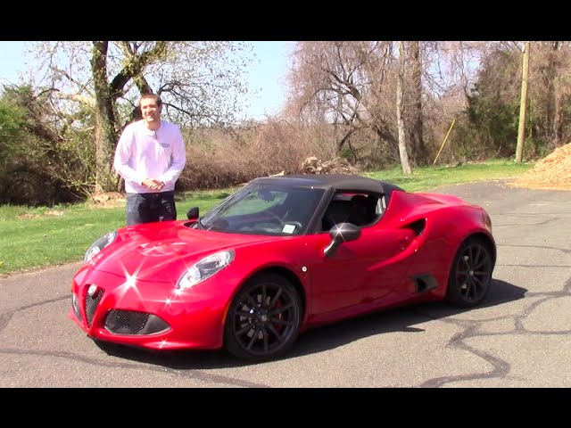 Can You Daily Drive an Alfa Romeo 4C?