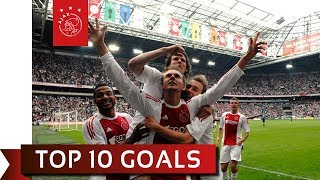 TOP 10 GOALS - Siem de Jong