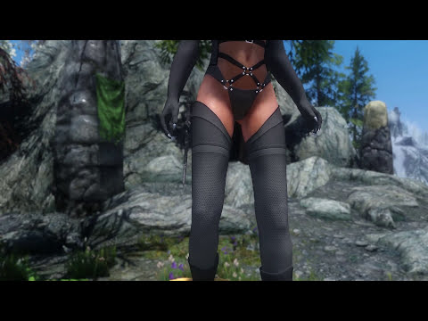 Skyrim Mod Review 66 - HDT Bikini And KS Jewelry - Series: Boobs And Lubes