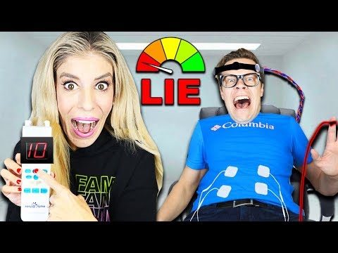 Lie Detector Test on Matt with a Pregnancy Simulator to Find Truth! (Best Friend GM Challenge)