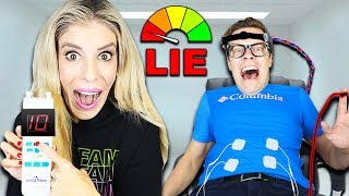 Lie Detector Test on Matt with a Pregnancy Simulator to Find Truth! (Best Friend GM Challenge) Video