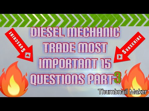 Download Diesel mechanic trade most important question part-3