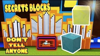 NEW *SECRET* BLOCKS Build a Boat for Treasure ROBLOX