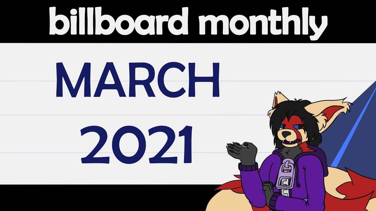Billboard Monthly - March 2021 (+Spring Top 20 Ranking)